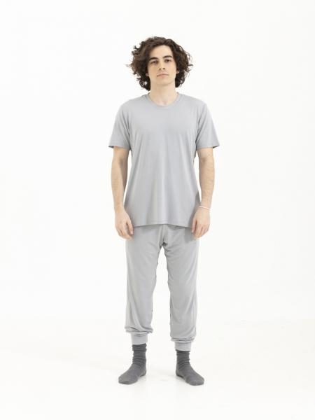 SENSESSENTIALS  Balance Tişört - Light Grey