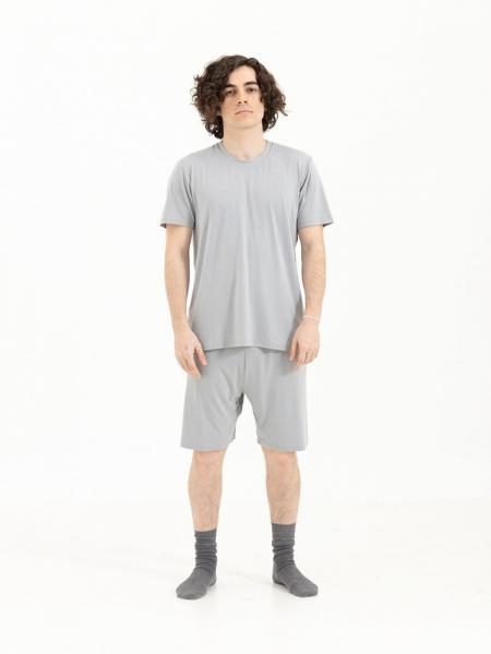 SENSESSENTIALS  Balance Şort- Light Grey
