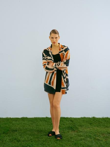 HIP+HAPPEN  Alyssa Gömlek Elbise