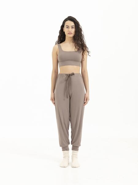 SENSESSENTIALS  Core Jogger Pantolon-Brown