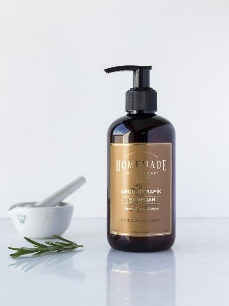 HOMEMADE AROMATERAPİ  Aromaterapik Şampuan Mandalina & Lavanta