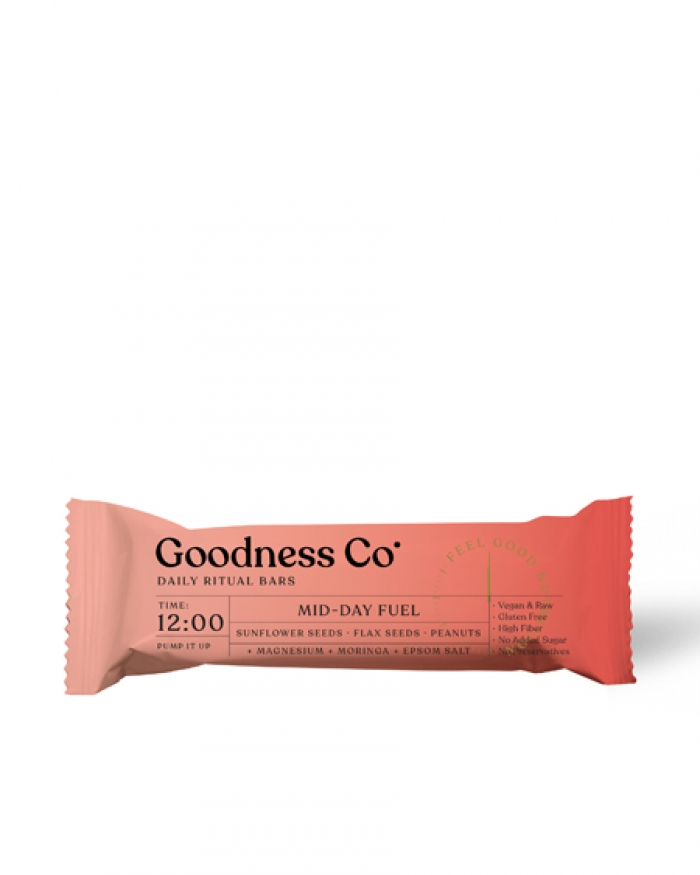 GOODNESS CO. Mid - Day Fuel 12:00
