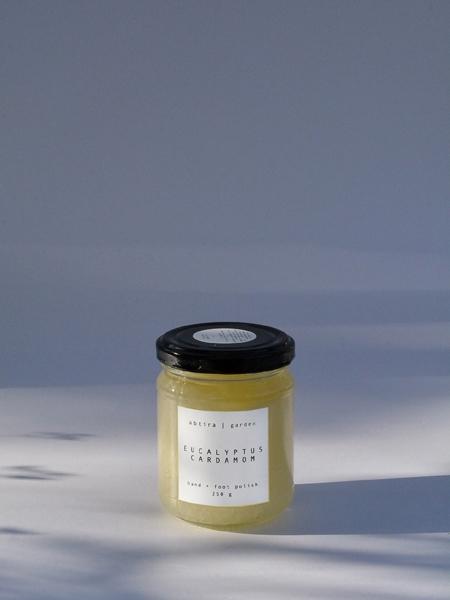 ABTIRA GARDEN  Eucalyptus Cardamom | el + ayak için tuzlu ovma
