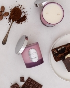ECHOES CANDLE & SCENT LAB. Chocolate Brownie Kokulu Çift Fitilli Doğal Mum