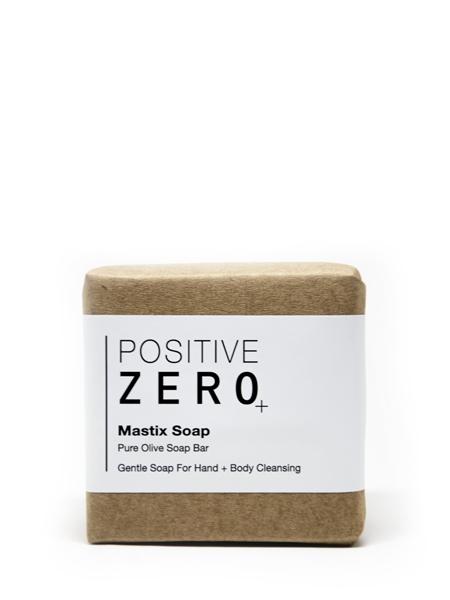 POSITIVE ZERO  Mastix Soap I Geleneksel zeytin yağlı sakız sabunu I zeytin yağı + damla sakızı