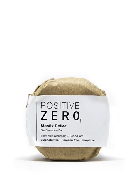 POSITIVE ZERO  Mastix Roller I Bio katı form şampuan I bitkisel aminoasit + provitaminb5 + kafein+ damla sakızı