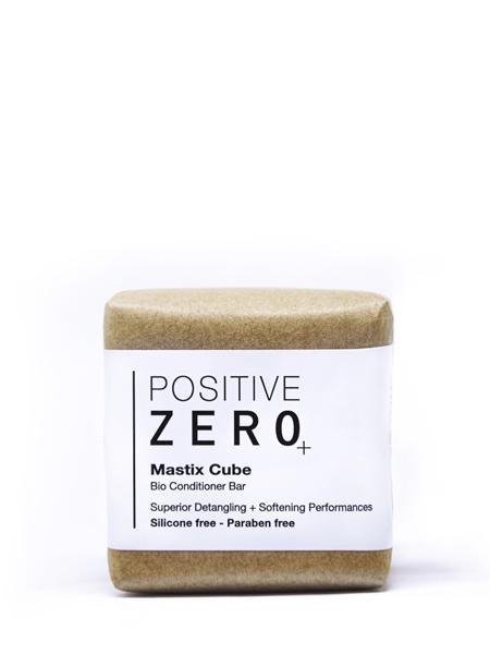 POSITIVE ZERO  Mastix Cube  I Bio katı form saç kondisyoneri I bitkisel aminoasit + hindistan cevizi yağ esteri + damla sakızı