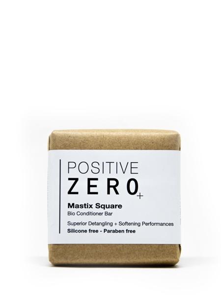 POSITIVE ZERO  Mastix Square I Bio katı form saç kondisyoneri I bitkisel aminoasit + hindistan cevizi yağ esteri + damla sakızı