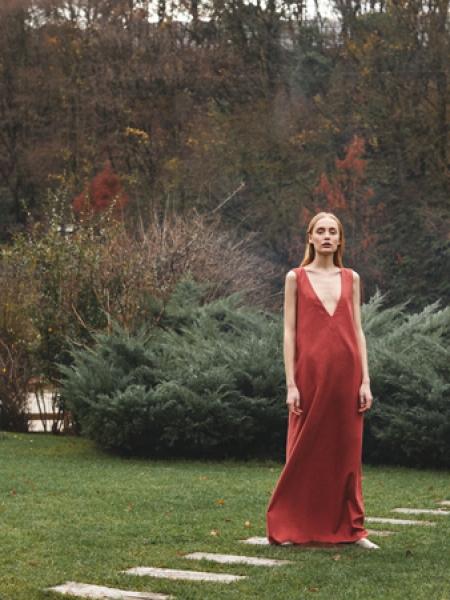 SUGEN  Vino V Yaka Elbise