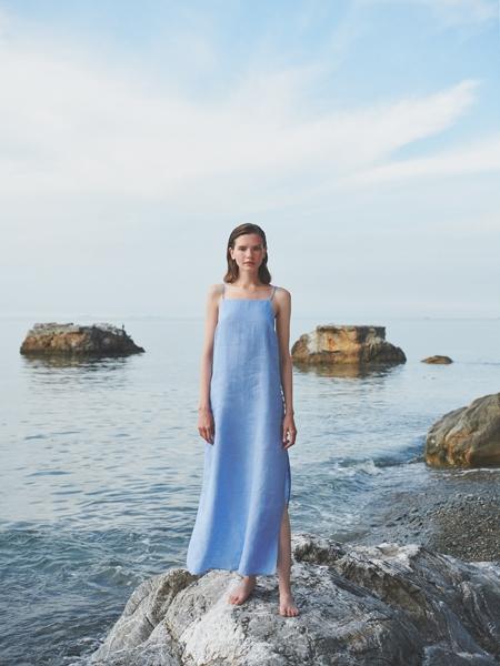 SUGEN  Bleu-Bleu Elbise