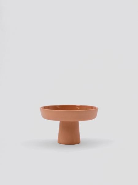 SUGEN  Terracotta Mini Ayaklı Servis Kasesi